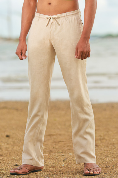 Natural Linen Cozumel Pant