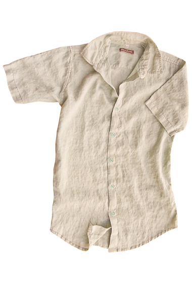 Pewter Linen Earth Shirt