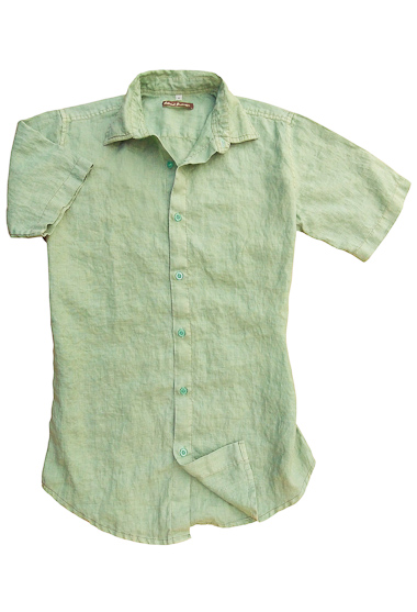 Sea Mist Linen Earth Shirt